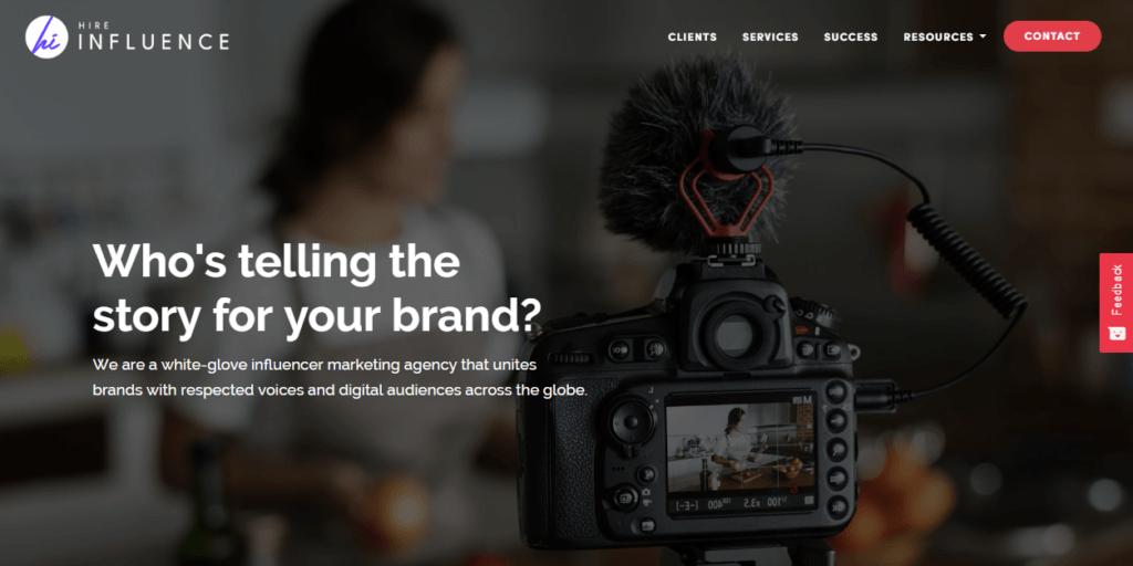 Influencer Marketing Agencies - HireInfluence