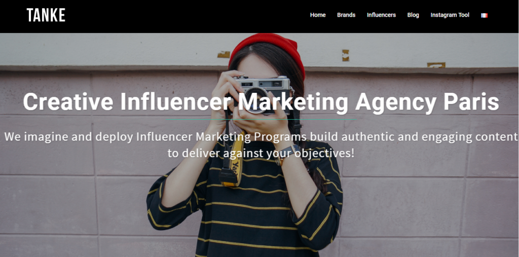 Influencer Marketing Agencies - Tanke