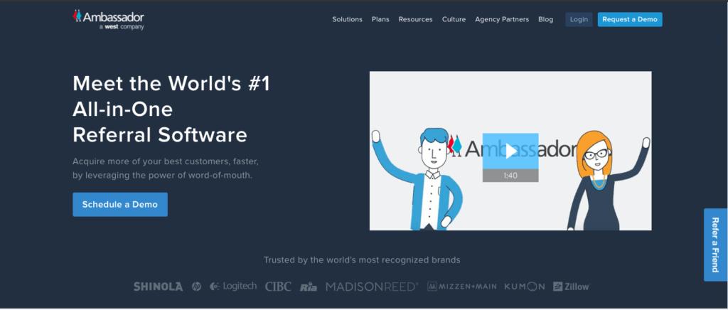 Ambassador- Referral Software