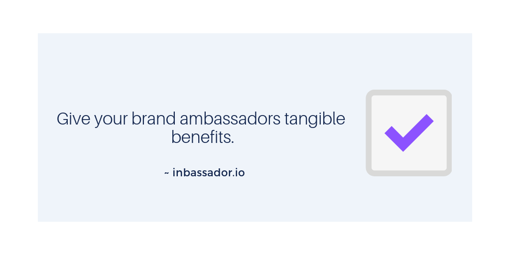 brand ambassador program tip 6