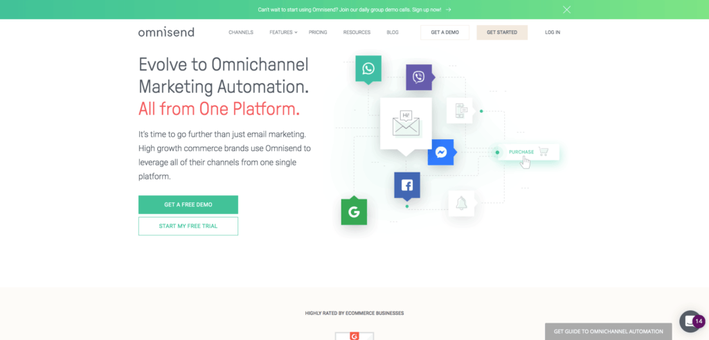 omnisend : ecommerce marketing tool