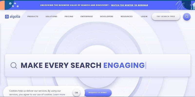 Algolia site search Review
