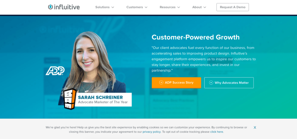 Influitive- Referral Software
