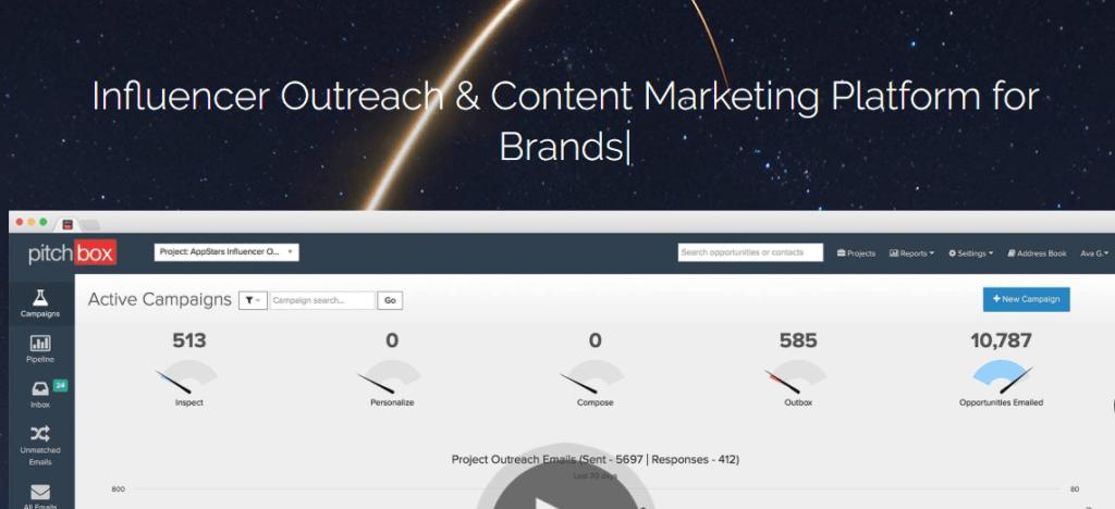 Influencer Marketing Marketplaces and Platforms - Pitchbox