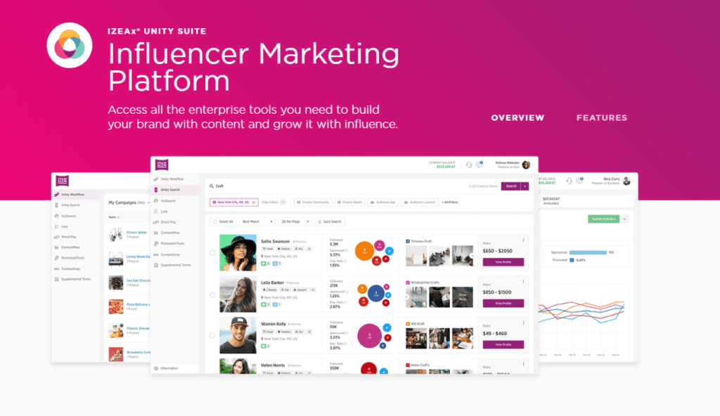 Influencer Marketplaces and Platforms
