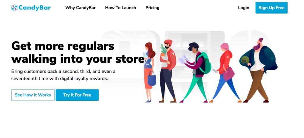 Candy Bar- Loyalty Software