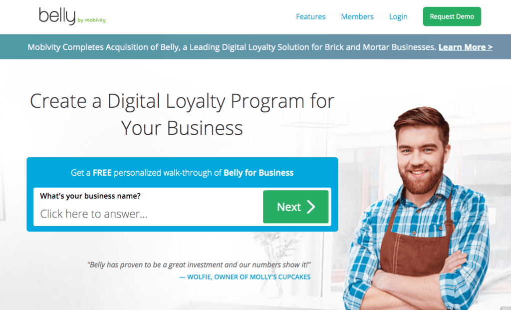Belly- Loyalty Software