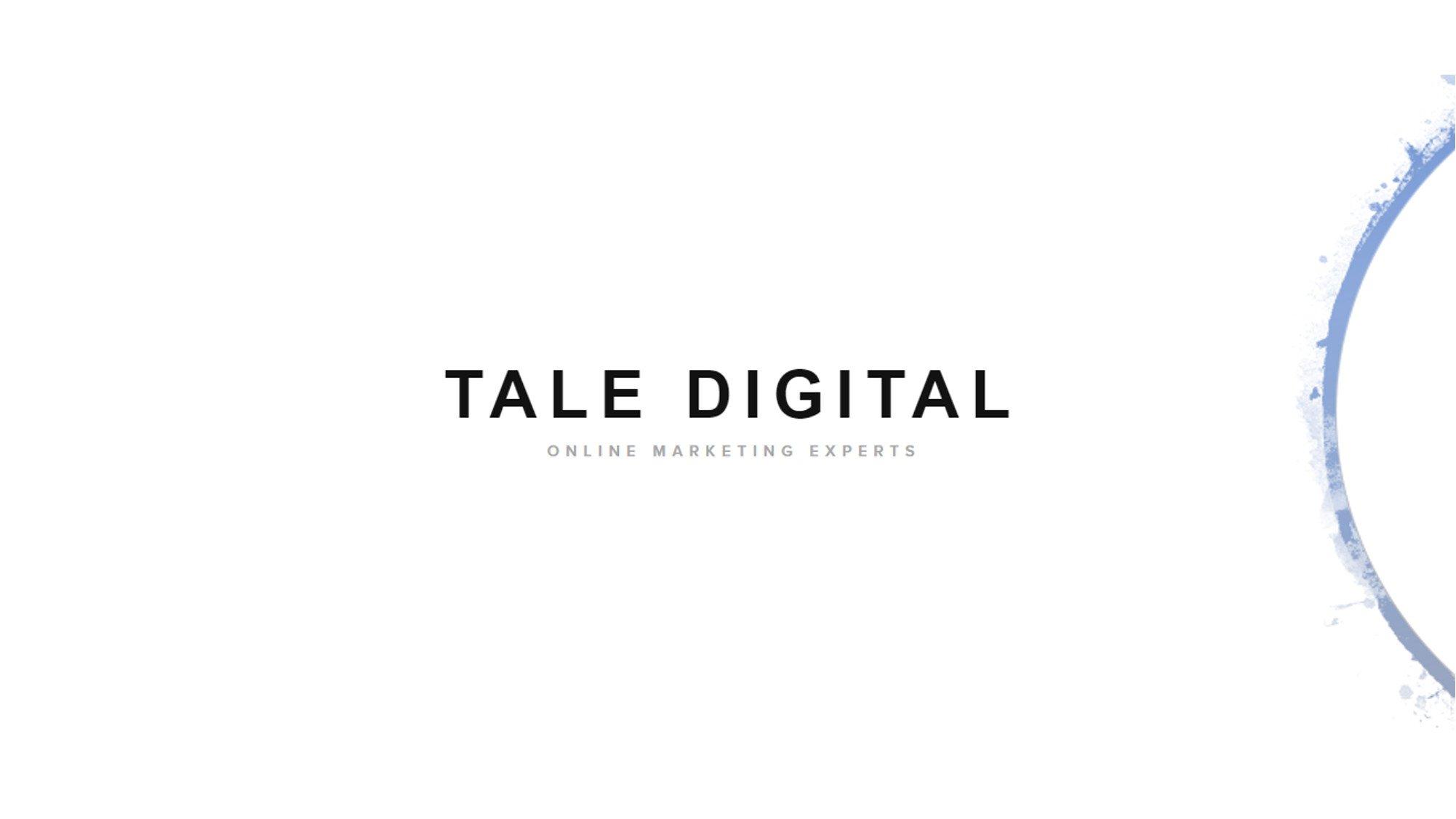 tale digital logo