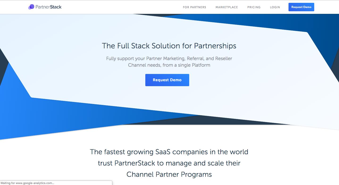 Partnerstack screenshot