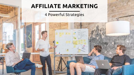 Affiliate strategies feature