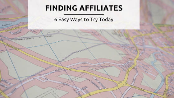 Finding Affiliates feature image
