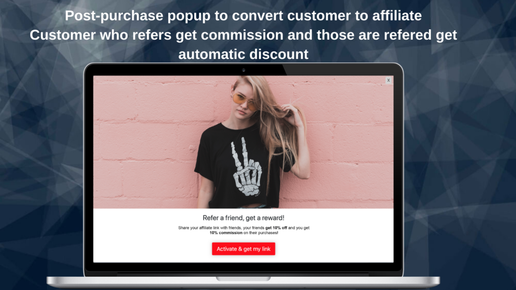 Shopify affiliate marketing - Secomapp