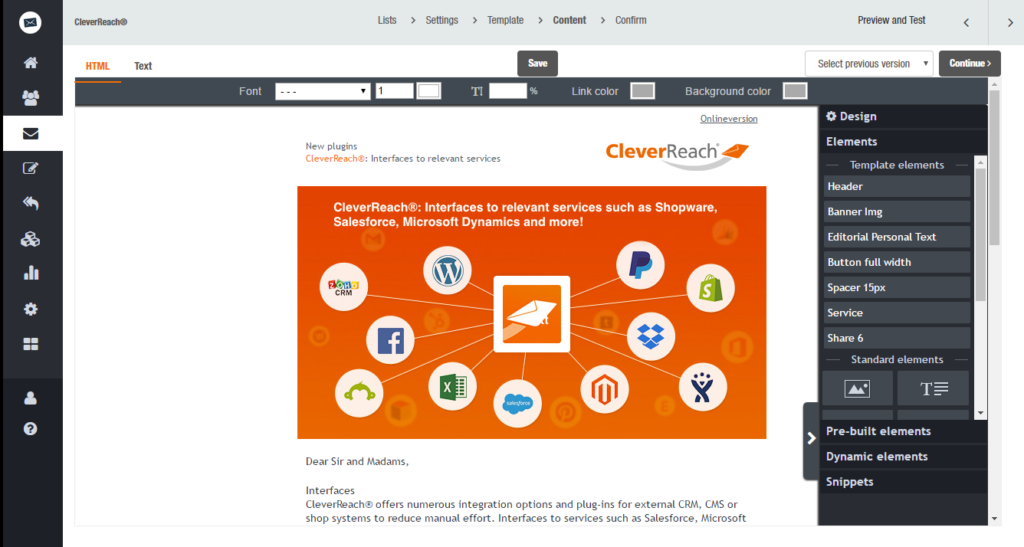 Magento Email Marketing - CleverReach