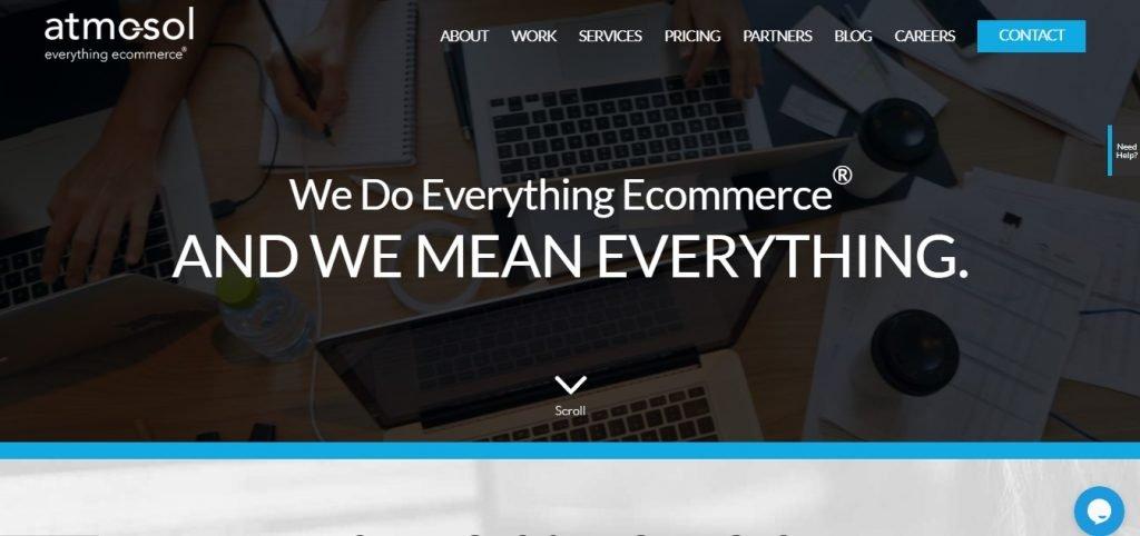 Atmosol E commerce Marketing Agency