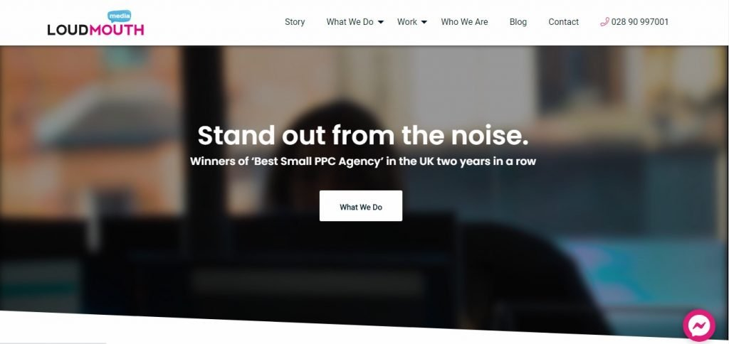 Loud Mouth Media SEO and PPC advertising agency