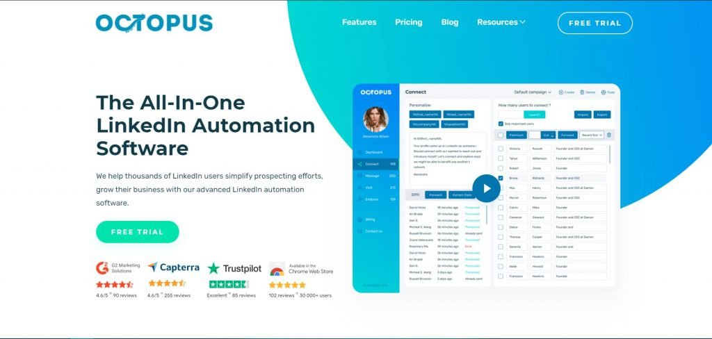 Octopus CRM_Lead generation software