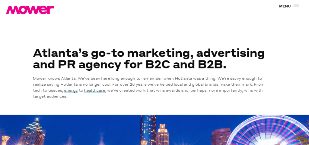 Mower Marketing Agency Specializing in B2C and B2B from city to city
