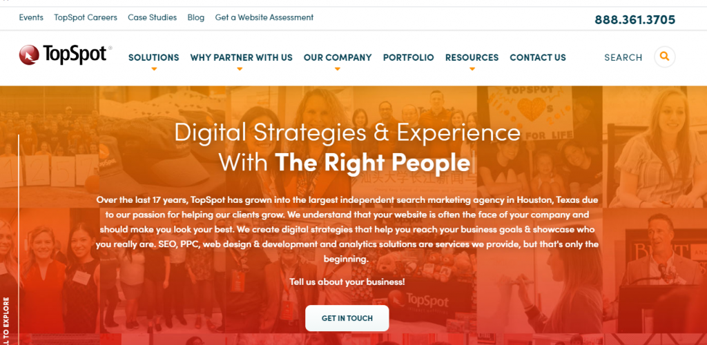 Topspot internet marketing agency