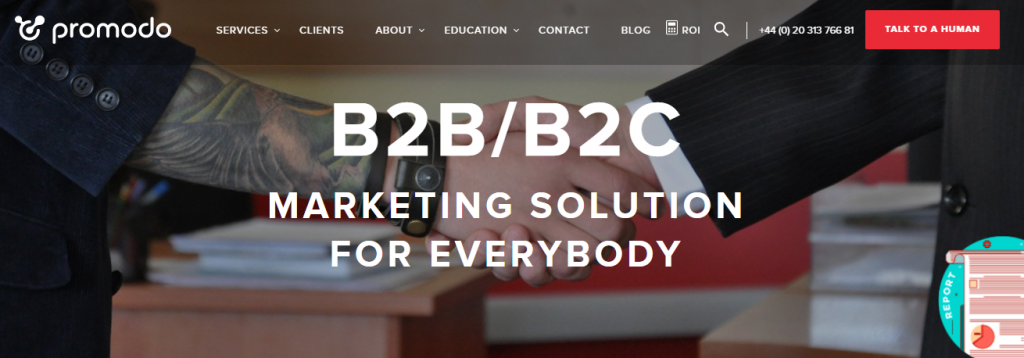 Promodo delivers B2B/B2C marketing solutions to everybody