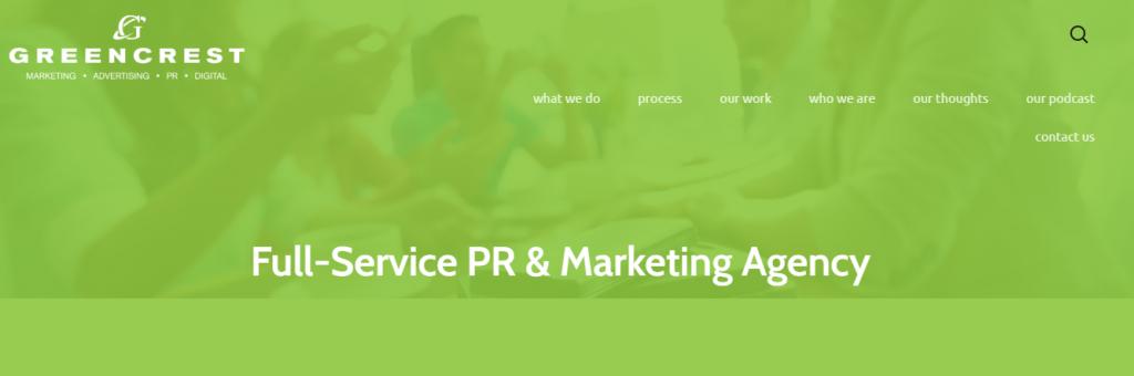 Greencrest full-service PR & Marketing Agency