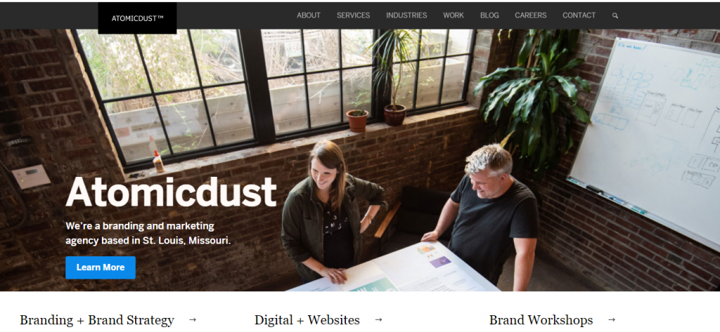 Atomicdust branding and marketing agency