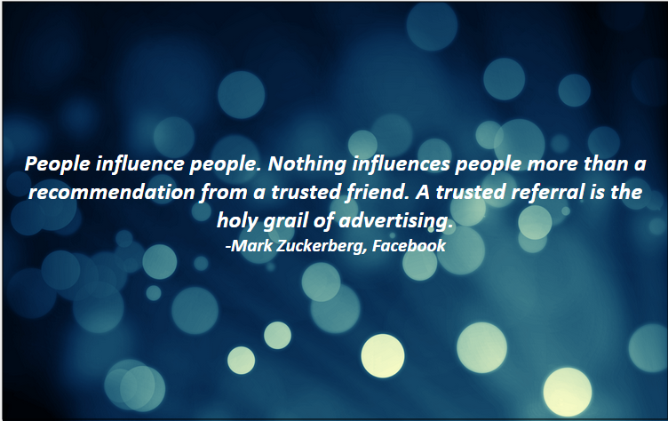 Referral Marketing-Mark Zuckerberg