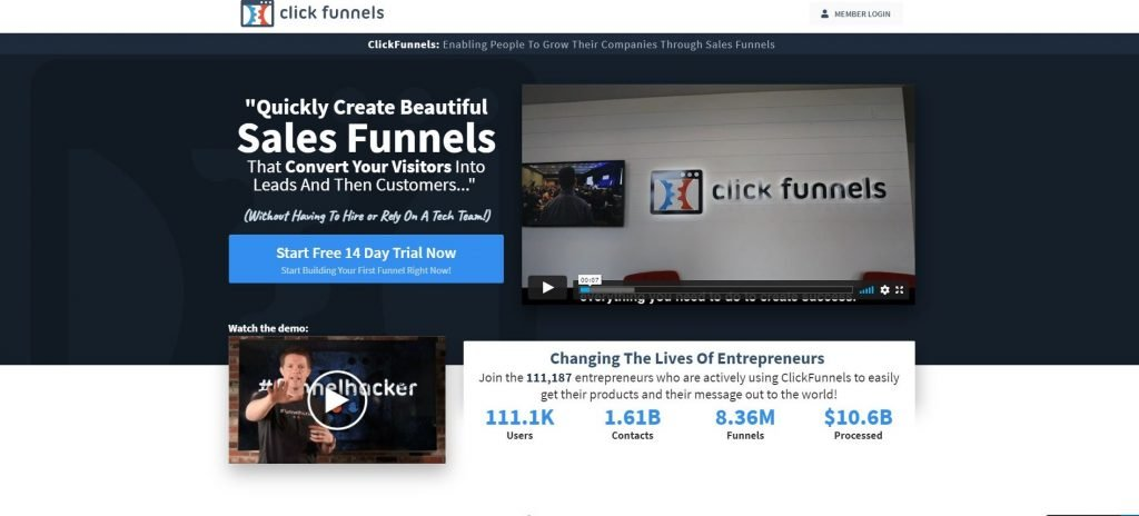 Clickfunnels_Sales Funnel Builder