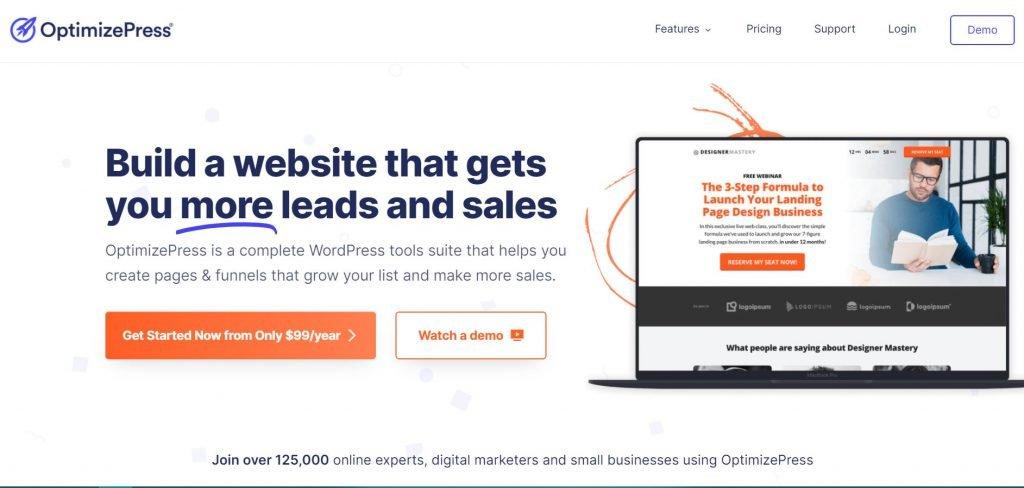 OptimizePress_sales funnel builder
