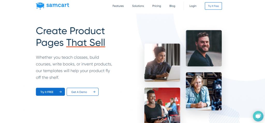 SamCart_sales funnel builder