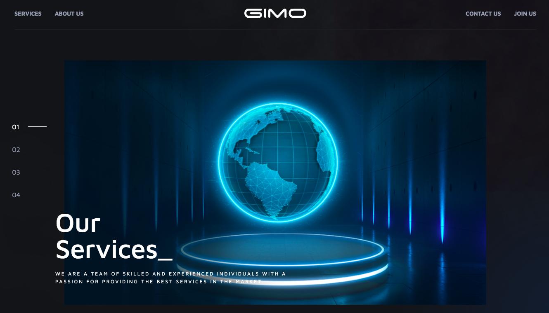 GIMO screenshot