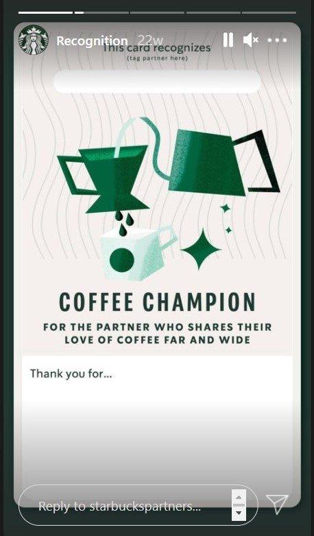 Starbucks customer engagement