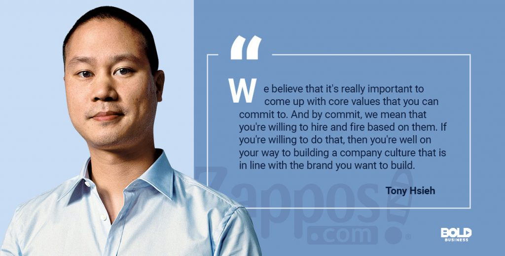 Customer-centric strategy - Image of Tony Hsieh, CEO of Zappos