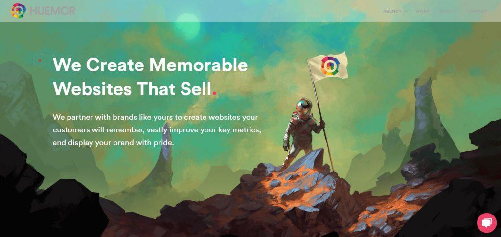 HUEMOR_SaaS marketing agency