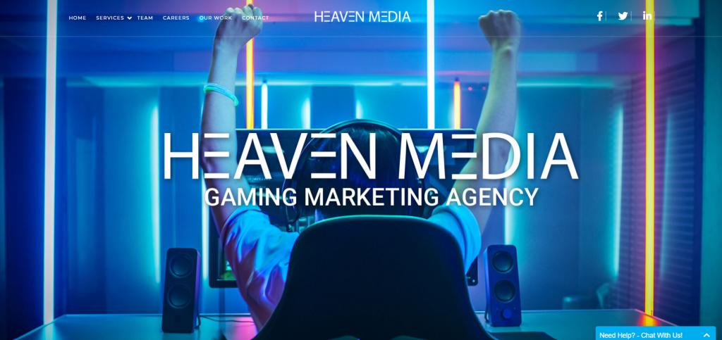 Heaven Media_Esport marketing agency in the UK