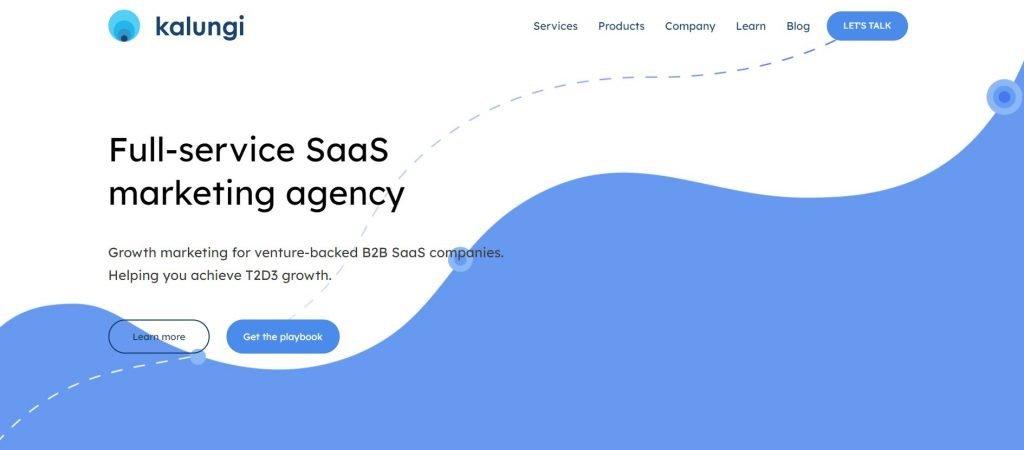 Kalungi_SaaS marketing agency