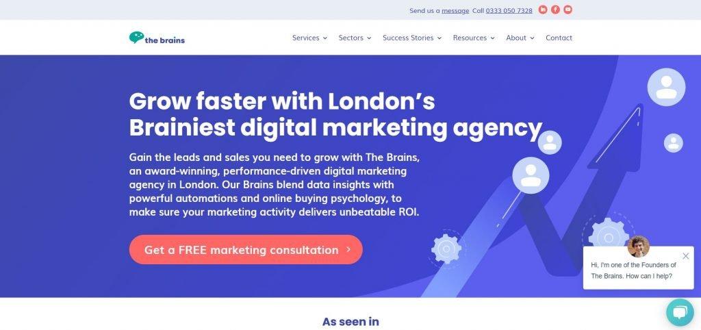 TheBrains_SaaS marketing agency