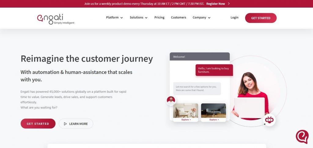 Engati_customer engagement platforms
