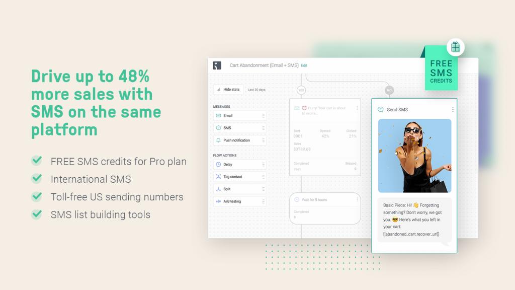 Omnisend_Shopify SMS marketing app