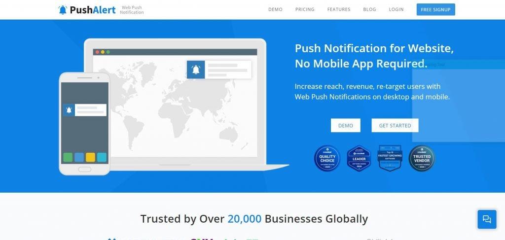 PushAlert_push notification services