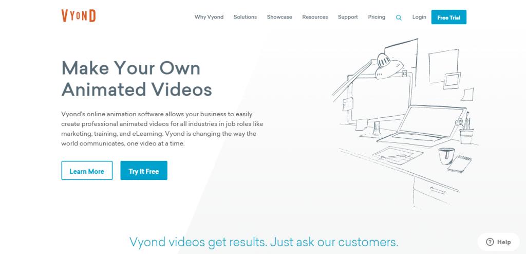 Vyond Website