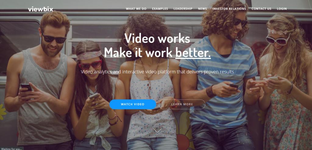 Viewbix Website