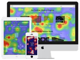 Confetti heat mapping