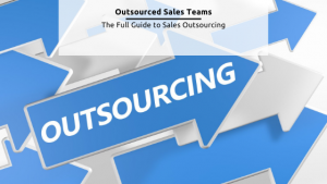 Outsourced sales team - Free graphic from Canva